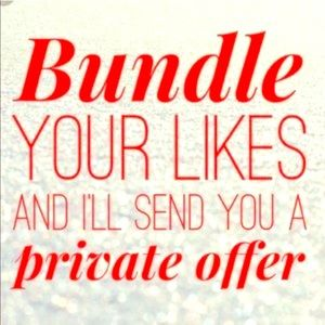 Other - BUNDLE YOUR LIKES!!!!